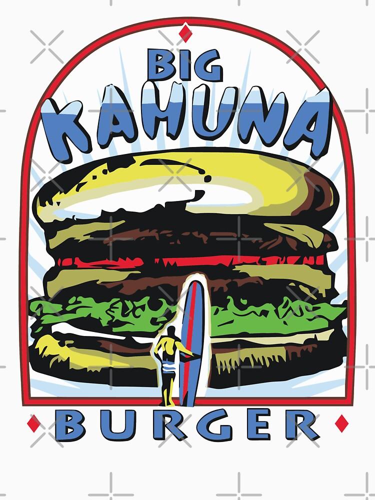 Big Kahuna Burger t-shirt (Pulp Fiction, Tarantino, Bad Motherf**ker) by fandemonium