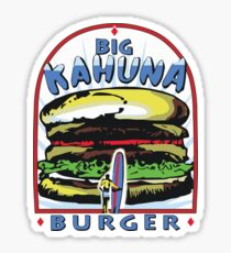 Big Kahuna Burger t-shirt (Pulp Fiction, Tarantino, Bad Motherf**ker) Sticker