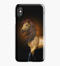 Buckskin Horse .. iphone case iPhone Case/Skin