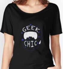Geek Chic Simplistic Women's Relaxed Fit T-Shirt