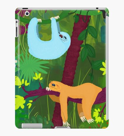 The nap time 2 iPad Case/Skin