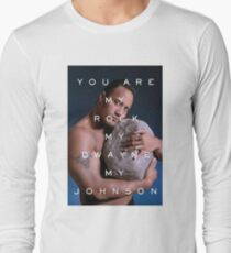 You Are My Rock Long Sleeve T-Shirt
