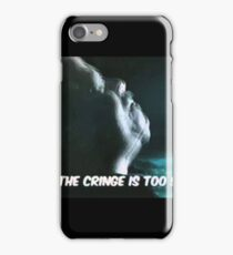 When the cringe is too strong iPhone Case/Skin