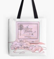 N64 Zelda Ocarina Of Time Tote Bag