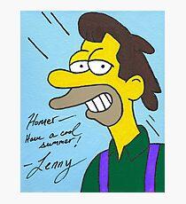 Lenny Photographic Print