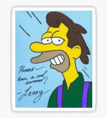 Lenny Sticker