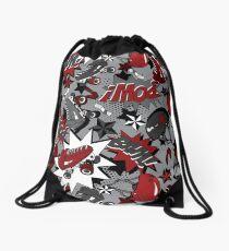 Roller Derby Slam Drawstring Bag