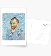 Vincent van Gogh - Selbstporträt Postkarten