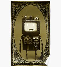 Steampunk B-MO Adventure time.  Poster