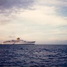 Cruise Ship, Caribbean by lenspiro
