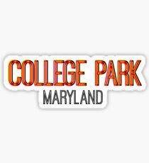 College Park Maryland Snapchat Sticker