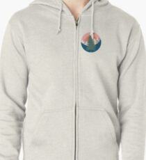 Go Outside Zipped Hoodie