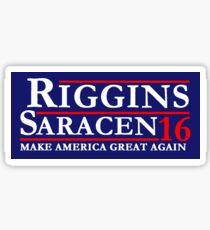 Riggins Saracen Sticker