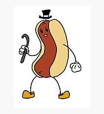 Vaudeville Hot Dog Photographic Print