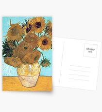 Vincent van Gogh - Stillleben - Vase mit zwölf Sonnenblumen Postkarten
