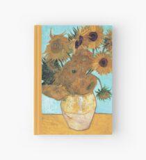 Vincent van Gogh - Stillleben - Vase mit zwölf Sonnenblumen Notizbuch