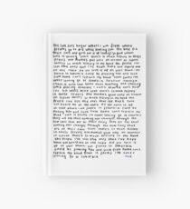 TROYE SIVAN SUBURUBIA  Hardcover Journal