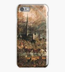 Salisbury Cathedral  iPhone Case/Skin