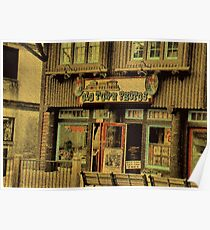 """""""Gatlinburg, Tennessee Series, #5, 'The Old Timey Photo Shop, 2nd Picture'""""... prints and products Poster"""