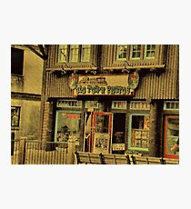 """""""Gatlinburg, Tennessee Series, #5, 'The Old Timey Photo Shop, 2nd Picture'""""... prints and products Photographic Print"""