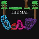 Wizards & Warriors Map by shortsleeve