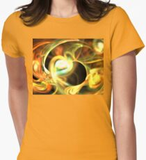 Orange Pearl Womens Fitted T-Shirt