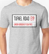 TUFNEL ROAD, SQUATNEY Unisex T-Shirt