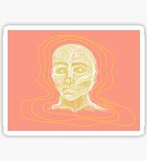 Fabian the Floating Head Sticker