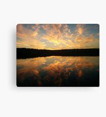 Sunrise in Nova Scotia Canvas Print