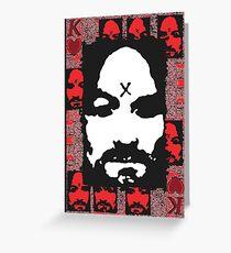 Charles Manson. Greeting Card