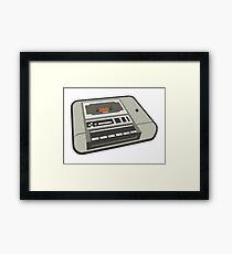 Commodore 64 Datasette Tape Recorder Framed Print