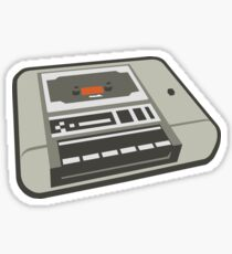 Commodore 64 Datasette Tape Recorder Sticker