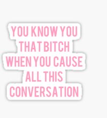 Conversation Sticker