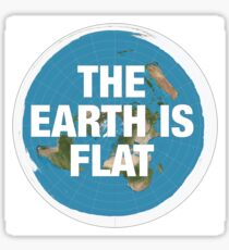 Flat earth research the truth Sticker