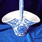 Blue and white candy dish by Shulie1