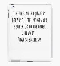 Feminism iPad Case/Skin