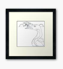 Midnight Sun Migration Framed Print