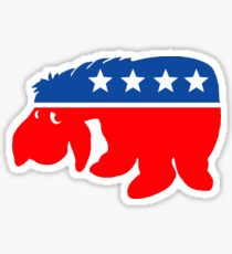 Don't mope about, support Democrat! Sticker