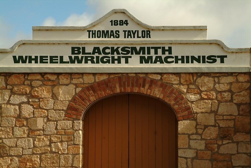 Joe Mortelliti Gallery - Blacksmith shop, Terowie township, South Australia. by thisisaustralia
