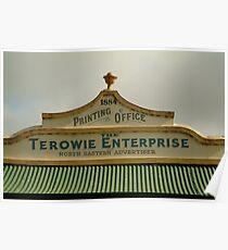 Joe Mortelliti Gallery - Printing Office, Terowie township, South Australia. Poster