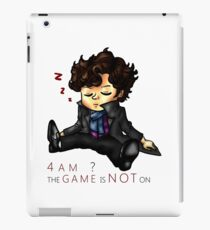 The Game Is NOT On iPad Case/Skin