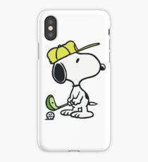 Snoopy Golf iPhone Case/Skin