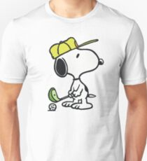 Camiseta unisex Snoopy Golf