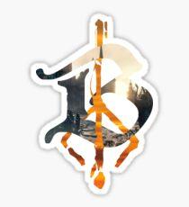 Bloodborne B Hunter's Mark Sticker