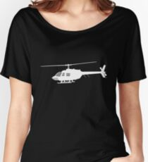 Urban Chopper Helicopter Women's Relaxed Fit T-Shirt