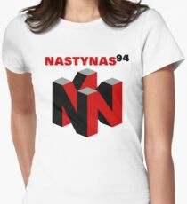 Nasty Nas 94 Womens Fitted T-Shirt