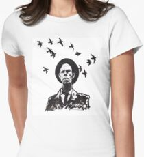 Old Crow Women's Fitted T-Shirt