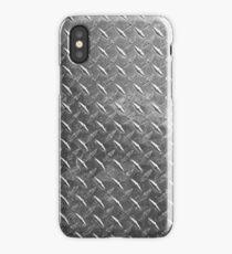 Silver sheet metal iPhone Case/Skin