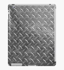 Silver sheet metal iPad Case/Skin