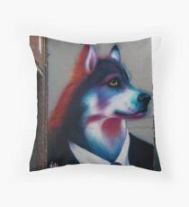 Were-Wulf of Melburn Throw Pillow